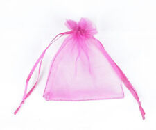 """Lot of 100 50 3"""" x 4"""" Organza Gift Bag Jewelry Pouch Wedding Favor NEW"""