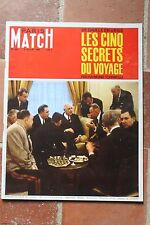 Paris Match N°900 De Gaulle en URSS Bac Radio City Inde Nazi VacanceS Montagne