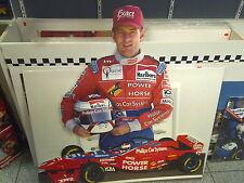 Cardboard figurine Jos Verstappen (NED) with Arrows Hart FA17 1996