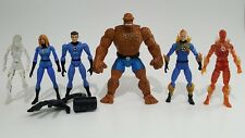 Marvel Legends Fantastic Four Lot Thing Human Torch Sue Reed Richards Hasbro TB