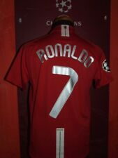 RONALDO MANCHESTER UNITED 2007/2008 MAGLIA SHIRT CALCIO FOOTBALL MAILLOT JERSEY