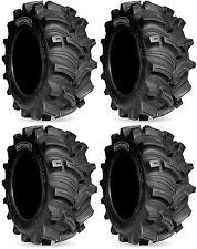 Four 4 Kenda Executioner ATV Tires Set 2 Front 27x10-12 & 2 Rear 27x10-12 K538