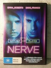 NERVE (2016 DVD) LATEST RELEASE Emma Roberts dave franco adventure crime R4