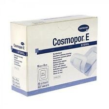 Cosmopor E Sterile Adhesive (10cmx8cm) x 25 Wound Dressing,Minor Injuries,Grazes