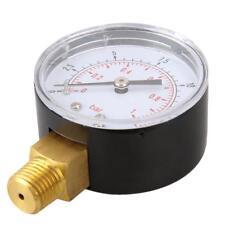 Manomètre à pression Manomètre Pression de compresseur d'air 0-1 bar 1/4