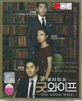 THE GOOD WIFE - COMPLETE KOREAN TV SERIES DVD BOX SET ( 1-16 EPIS)