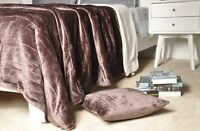 Battilo Super Soft Luxurious Reversible Sherpa Blanket
