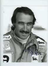 Clay Regazzoni Ferrari F1 Portrait British Grand Prix 1974 Signed Photograph
