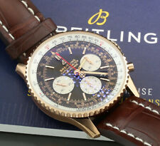 Breitling Navitimer B01 Chronograph 43 750er Rose Gold Box And Papiere New