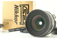 【TOP MINT Boxed】 Nikon Ai-s Nikkor 20mm f/2.8 Wide Angle MF Lens AIS from JAPAN
