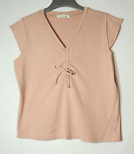 POWDER PINK LADIES CASUAL TOP SIZE 18/46 GEORGE