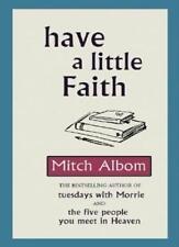 Have A Little Faith,Mitch Albom- 9780751537512