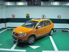 VW Shanghai Volkswagen Cross Polo MK4 sedan 1/18 model car free shipping
