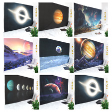 Indian Space Tapestry Wall Hanging Galaxy Planet Tapestry Wall Room Home Decor