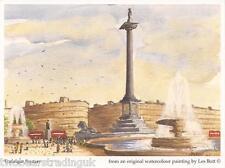 Postcard: Les Bott - Trafalgar Square, London (Pilkington Family Trust)