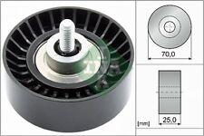 INA V-Ribbed Belt Deflection Guide Pulley 532 0655 10 532065510 - 5 YR WARRANTY