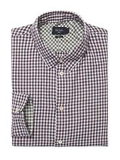 NWT Paul Smith Slim Fit L/S Button Down Mens Sports Shirt XL X-LARGE $175