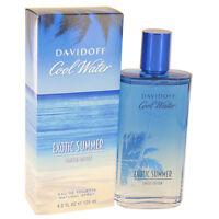Cool Water Exotic Summer by Davidoff EDT Spray (limited edition) 4.2 oz Men NIB