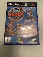 Disney Extreme Skate Adventure PS2 Playstation 2 PAL ( Complete ) FREE POST