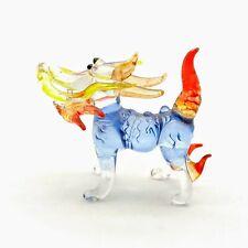 Qilin Kylin Kirin Glass Figurine Miniature Animal Hand Blown - Gpdga015