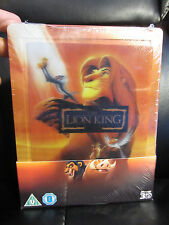 The Lion King Lenticular 3D Blu-Ray Steelbook [UK] Region Free Disney Classic