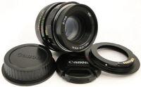 AF Confirm KMZ HELIOS 44m Russian Lens Canon Rebel SL1 T1 T2 T3 T5 T6 6D 7D