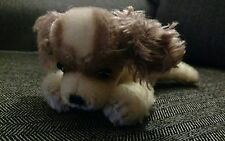 Steiff Dog Mohair Doll Stuffed Animal plush Vintage old cockerspainiel Puppy Pup