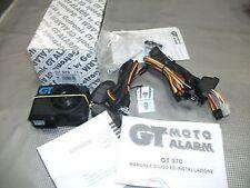 Alarma Moto Getronic GT-970, nueva, profesional con dos mandos, consumo mínimo.