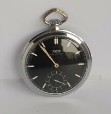 RARE Swiss TISSOT 1931-33 Mechanical Pocket Watch *WORLD CYCLING CHAMPIONSHIPS*