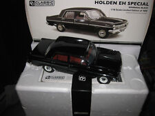 1.18 CLASSIC CARLECTABLES  HOLDEN EH SPECIAL SEDAN WARRIGAL BLACK LTD ED  #18642
