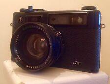 Yashica Electro 35 GT 35mm cámara telemétrica de película de Japón con lente de 45mm
