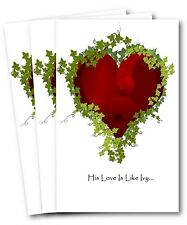 Christian Sympathy Card (3 cards variety pack with envelopes)
