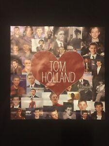 I ❤️ Tom Holland Shirt Size XL Spiderman Love Actor New York British