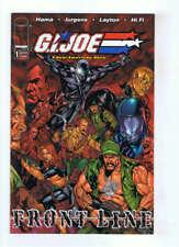 Gi Joe American Hero Frontline #1 Cover B VF+ 2002