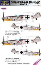 LF Models Decals 1/32 MESSERSCHMITT Bf-109G-6 COMISO CARTOON Part 3