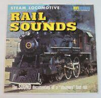 Seymour F. Johnson – Steam Locomotive Rail Sounds, vinyl LP,  HiFi Records 