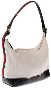 Kate Spade New York SMALL SATCHELL Mini Handbag Purse Bag, Beige - Made in Italy