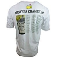 Masters Champions Men's T-shirt - 2015 Augusta Golf Tournament - Tiger Woods NWT