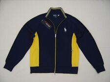 Polo Ralph Lauren Mens Sweater Big Pony Zip Tennis Terry Jacket Varsity Jersey L