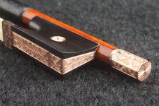 14K Gold Meister Fernambuk Sartory Modell Geigenbogen Violinbogen 4/4 63.5g