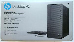 HP Desktop Tower Ryzen 3 3200G 8GB RAM 1TB HDD Windows 10