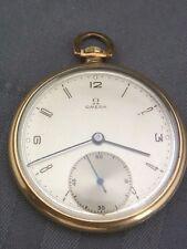 Schöne alte Taschenuhr Omega Doublé ca. um 1930