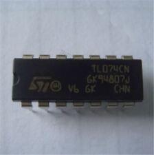 20Pcs Quad Jfet TL074 TL074CN DIP-14 Op Amp Ic New