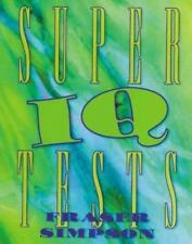 NEW - Super IQ Tests by Fraser Simpson