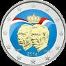 2 Euro Luxemburg 2014 50 Jahre Großherzog Jean - coloriert