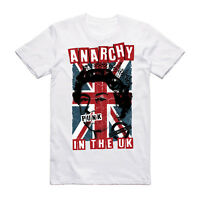 Anarchy In The UK Punk T Shirt - Sex Pistols Music Tee Rock Festival Clothing