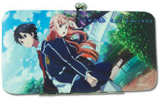 Sword Art Online Kirito and Asuna Checkbook Hinge Wallet NEW