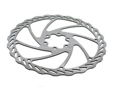 Disque de frein 180mm 6 trous 160g vagues design vélo acier inoxydable