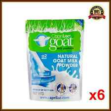 6x Caprilac A2 Goat's Milk Powder 1KG Satchel Best Goat's Milk