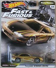 Hot Wheels Premium Fast & Furious Fast Tuners NISSAN 240SX S14 3/5 gold
